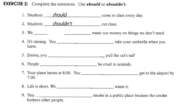 Modal Verb Should Uso Y Reglas De Should Leccion 40