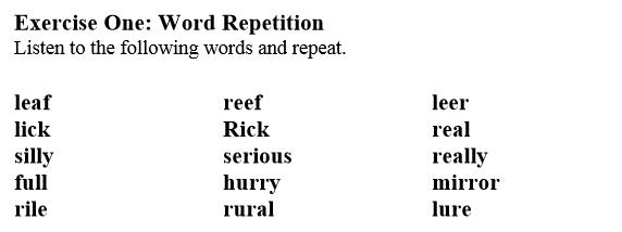 pronunciacion ingles leccion