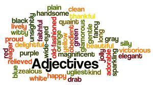 lista de adjetivos en ingles descargar