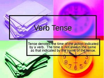 repaso de los tiempos verbales en ingles